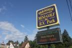Paradise is mini golf